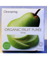 puree mus gruszkowy 2x100g CLEARSPRING
