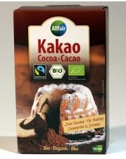 kakao w proszku fair trade bio 125g allfair