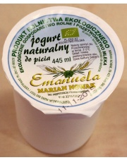✎ jogurt naturalny do picia 445ml EKONABIAŁ