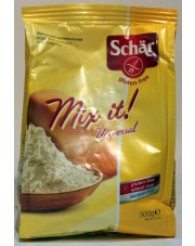 bezglutenowa uniwersalna mąka do pieczenia mix it 500g SCHAR