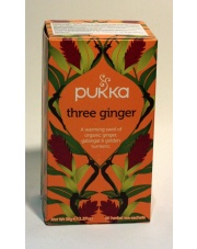 herbata three ginger 36g PUKKA